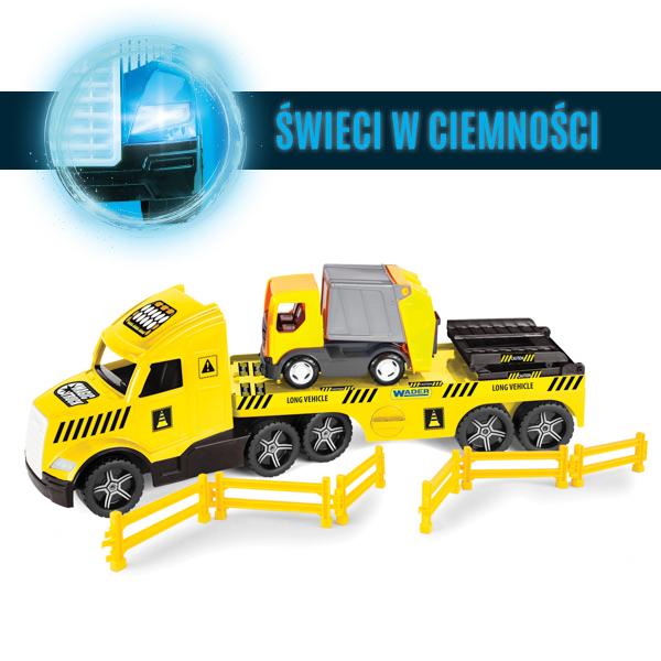 Magic Truck Technic laweta ze śmieciarką