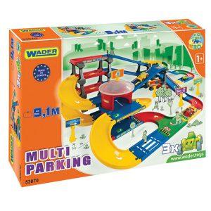 Play Tracks Garage parking z trasą 9,1 m