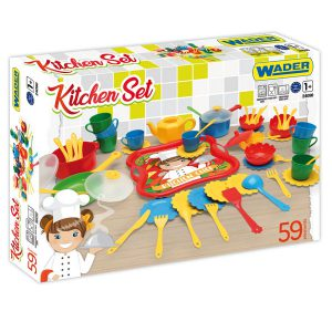 Party World zestaw kuchenny Kitchen set 59 el.