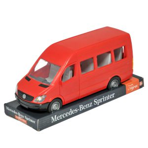 Mercedes-Benz Sprinter osobowy czerwony