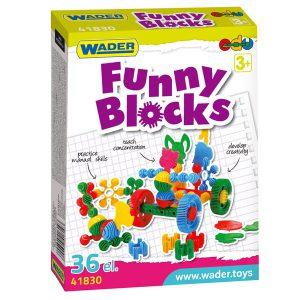 Klocki Funny w kartonie 36 el.