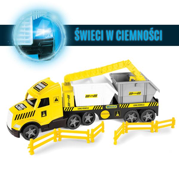 Magic Truck Technic laweta z kontenerami