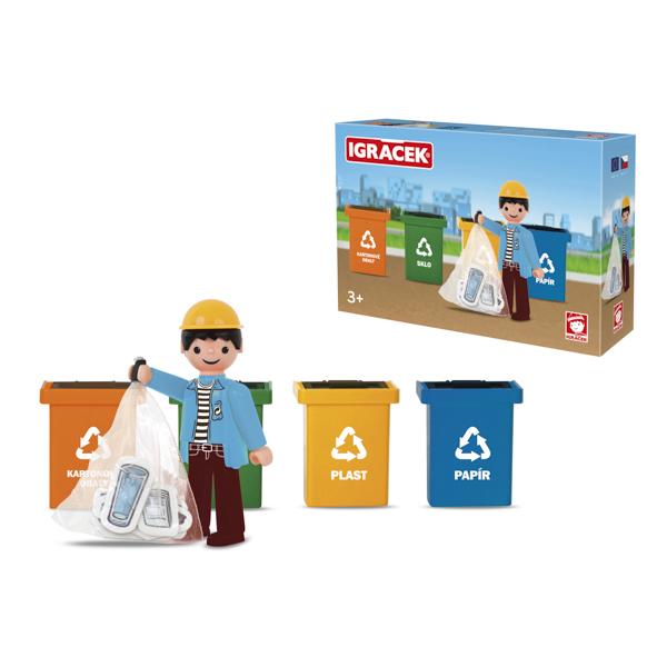 Igracek Trio recykling