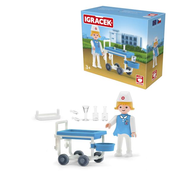 Igracek sanitariusz i akcesoria - duży zestaw