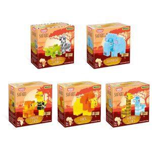 Baby Blocks Safari klocki