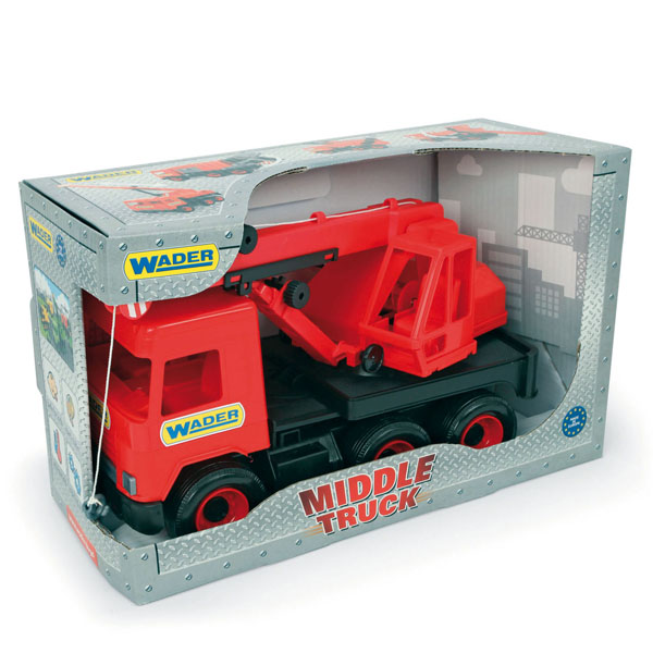 Middle Truck dźwig red w kartonie