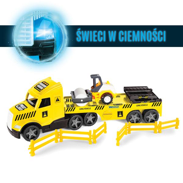 Magic Truck Technic laweta z walcem