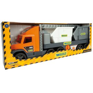 Super Tech Truck laweta z kontenerami budowlanymi