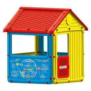 Domek z dachem dwuspadowym