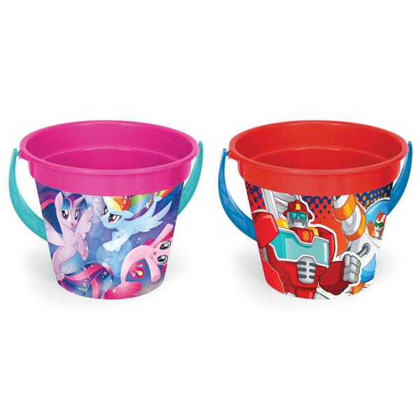 My Little Pony/Transformers wiadro okrągłe 3,4 l z IML
