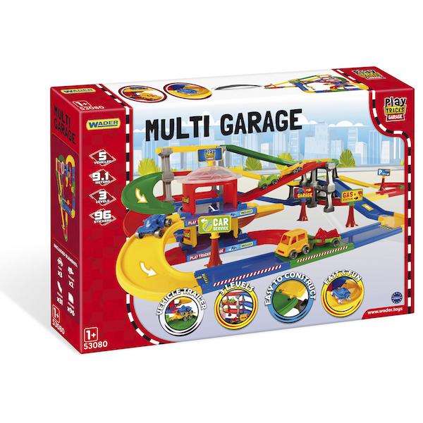 Play Tracks Garage parking wielopoziomowy