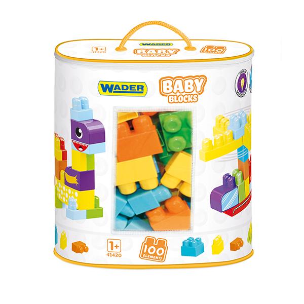 Klocki Baby Blocks torba 100 szt.
