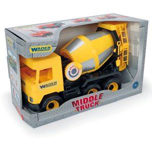 Middle Truck betoniarka yellow w kartonie
