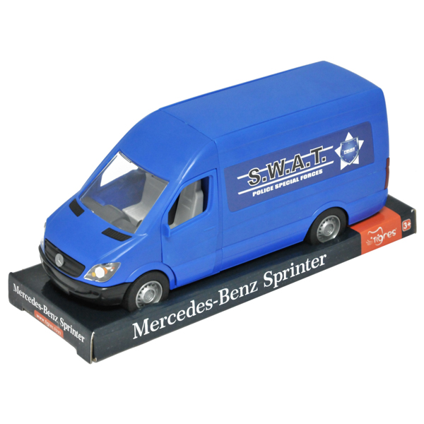 Mercedes-Benz Sprinter ciężarówka niebieska
