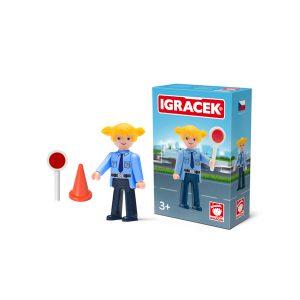 Igracek policjantka i akcesoria
