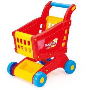 Wózek na zakupy w kartonie