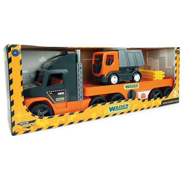 Super Tech Truck laweta z wywrotką