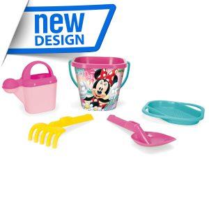 Minnie Mouse komplet do piasku 5 el.