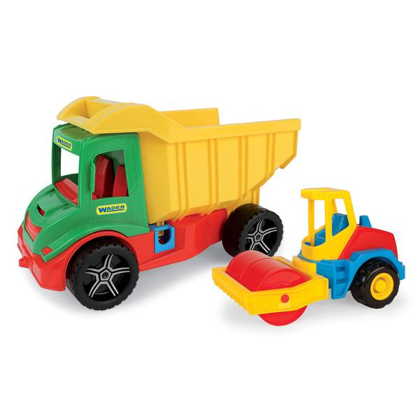 Multi Truck z koparką/walcem