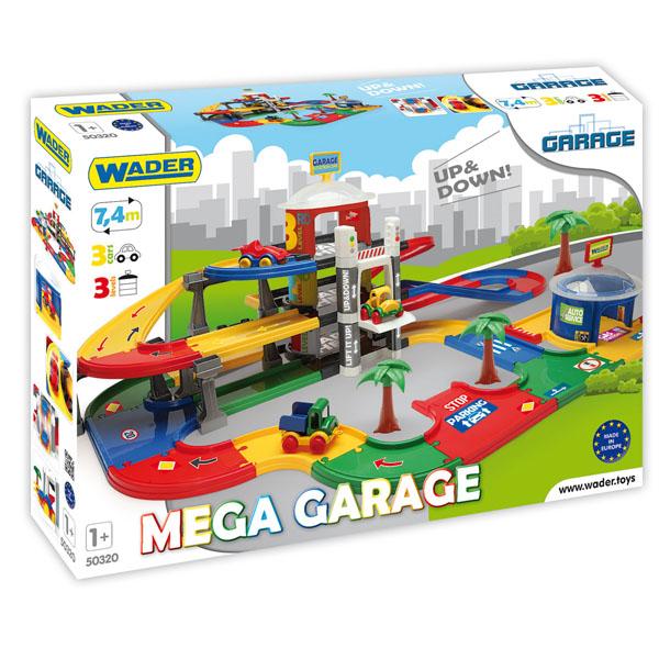 Mega Garaż z windą 3 poziomy