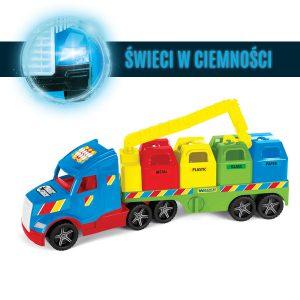 Magic Truck Basic śmieciarka recycling