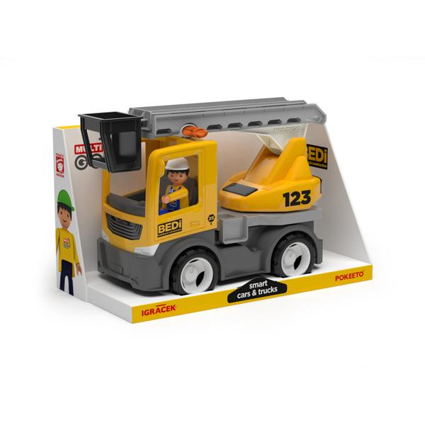 Multigo Build ciężarówka z drabiną z kierowcą