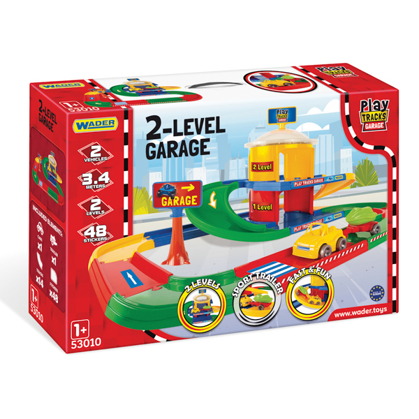 Play Tracks Garage Garaż 2-poziomowy poziomowy