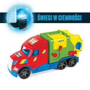 Magic Truck Basic śmieciarka kontener