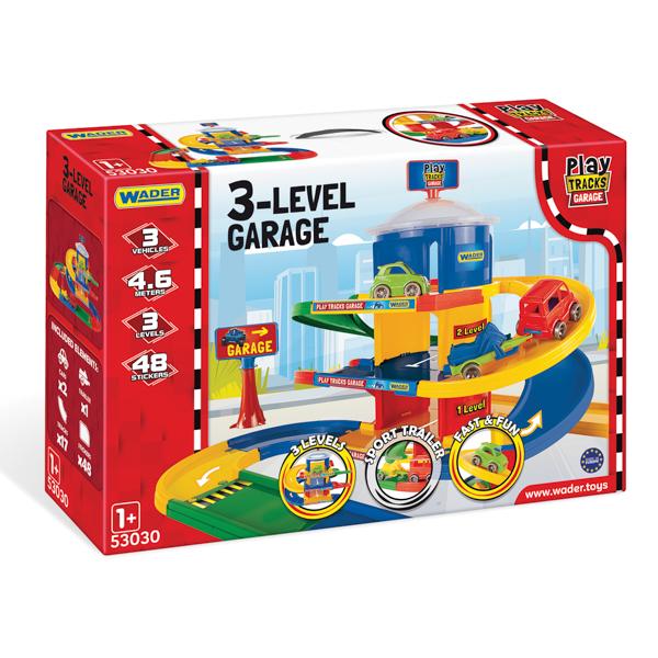 Play Tracks Garage garaż 3-poziomowy