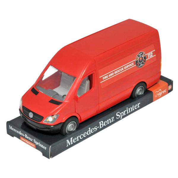 Mercedes-Benz Sprinter ciężarówka czerwona