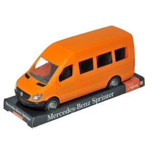 Mercedes-Benz Sprinter osobowy pomarańczowy