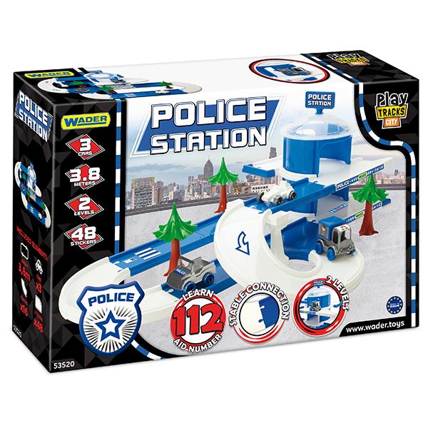 Play Tracks City posterunek policji
